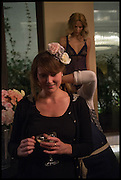 MARINA WILLIAMS; ISABELLE CROSSMAN ( BEHIND ), Myla 15th Anniversary party!   The House of Myla,  8-9 Stratton Street, London