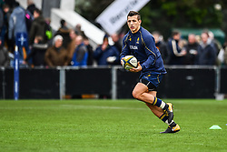 Ryan Mills of Worcester Warriors during the pre match warm up - Mandatory by-line: Craig Thomas/JMP - 27/01/2018 - RUGBY - Sixways Stadium - Worcester, England - Worcester Warriors v Exeter Chiefs - Anglo Welsh Cup