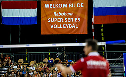 11-08-2018 NED: Rabobank Super Series Netherlands - Turkey, Eindhoven<br /> Netherlands in the final against Russia. The Dutch win the semi final in straight sets 3-0 / Final between Netherlands against Russia