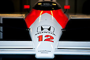 February 19-22, 2015: Formula 1 Pre-season testing Barcelona : MP4/4 Mclaren Honda driven by Ayrton Senna in 1988