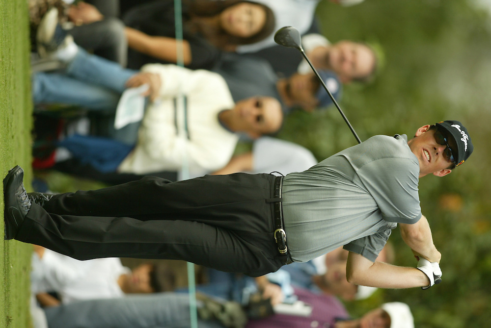 Justin Leonard.2003 Tour Championship.Final Round.Champions Golf Club.Houston, TX.November 9, 2003..photograph by Darren Carroll