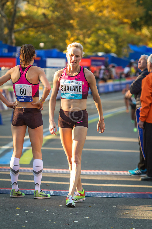 NYRR Dash to the Finish Line 5K road race:  Shalane Flanagan