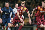 James Hanson (Bradford City) during the Sky Bet League 1 match between Bradford City and Southend United at the Coral Windows Stadium, Bradford, England on 16 February 2016. Photo by Mark P Doherty.