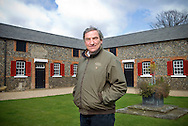 UK. Newmarket. Horse trainer Luca Cumani at his ranch/stables in Newmarket, Suffolk..Photo©Steve Forrest/Workers' Photos