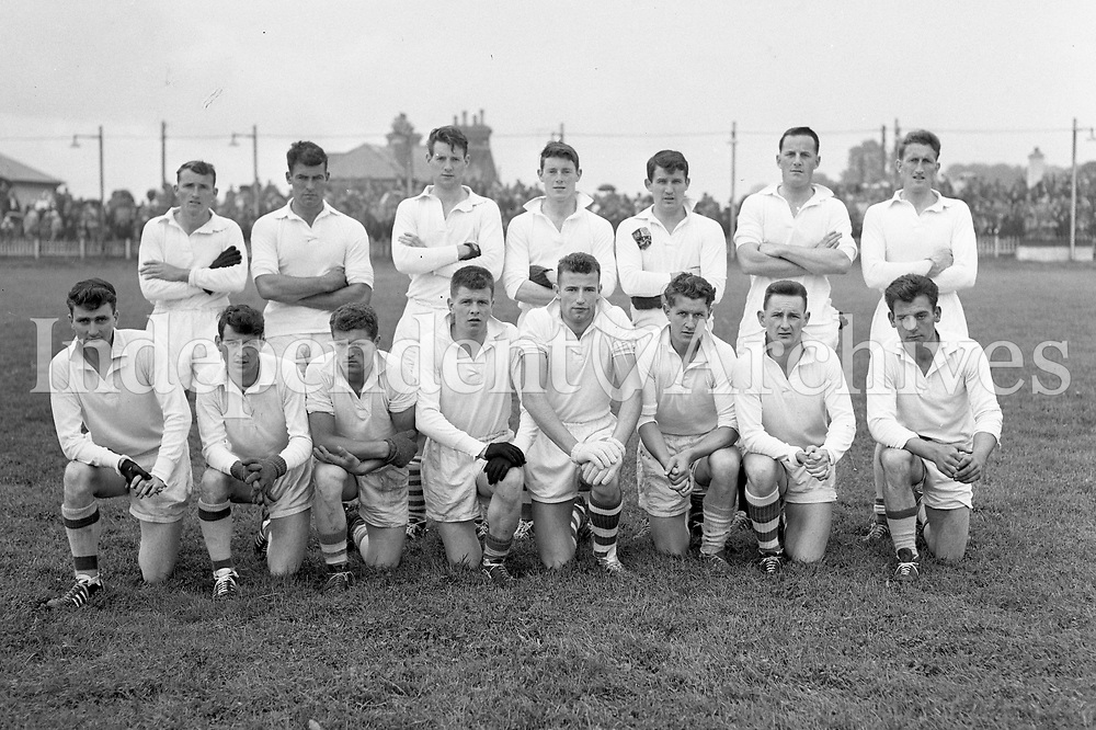 The Kildare team beaten by Dublin in the O'Byrne cup match. 14/8/1960  (Part of Independent Newspapers Ireland/NLI Collection)