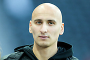 Jonjo Shelvey (#8) of Newcastle United arrives ahead of the Premier League match between Newcastle United and Leicester City at St. James's Park, Newcastle, England on 9 December 2017. Photo by Craig Doyle.