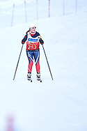 Schladming, Austria - 2017 March 20: Ida Lovise Wirum Saeter from SO Norway competes in Cross Country Race while Special Olympics World Winter Games Austria 2017 in Ramsau am Dachstein on March 20, 2017 in Schladming, Austria.<br /> <br /> Mandatory credit:<br /> Photo by © Adam Nurkiewicz / Mediasport<br /> <br /> Adam Nurkiewicz declares that he has no rights to the image of people at the photographs of his authorship.<br /> <br /> Picture also available in RAW (NEF) or TIFF format on special request.<br /> <br /> Any editorial, commercial or promotional use requires written permission from the author of image.<br /> <br /> Image can be used in the press when the method of use and the signature does not hurt people on the picture.