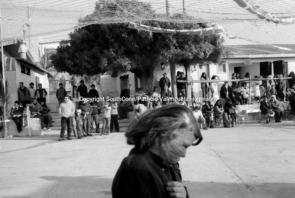 Los Vilos, 2005.<br /> This pictures are part of a 10 year long project about religious festivities in Chile where spanish and indigenous ways mixed up conforming diverse and unique way of worshiping god and virgin Mary.