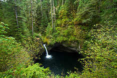 Eagle Creek, Oregon Photos - Stock images, Punch Bowl Falls, Pacific Crest Trail