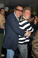 BROOSK SAIB and OLIVIA BUCKINGHAM at the launch of a new bar Bardo, 101-105 Walton Street, London SW3 on 29th November 2005.<br /><br />NON EXCLUSIVE - WORLD RIGHTS