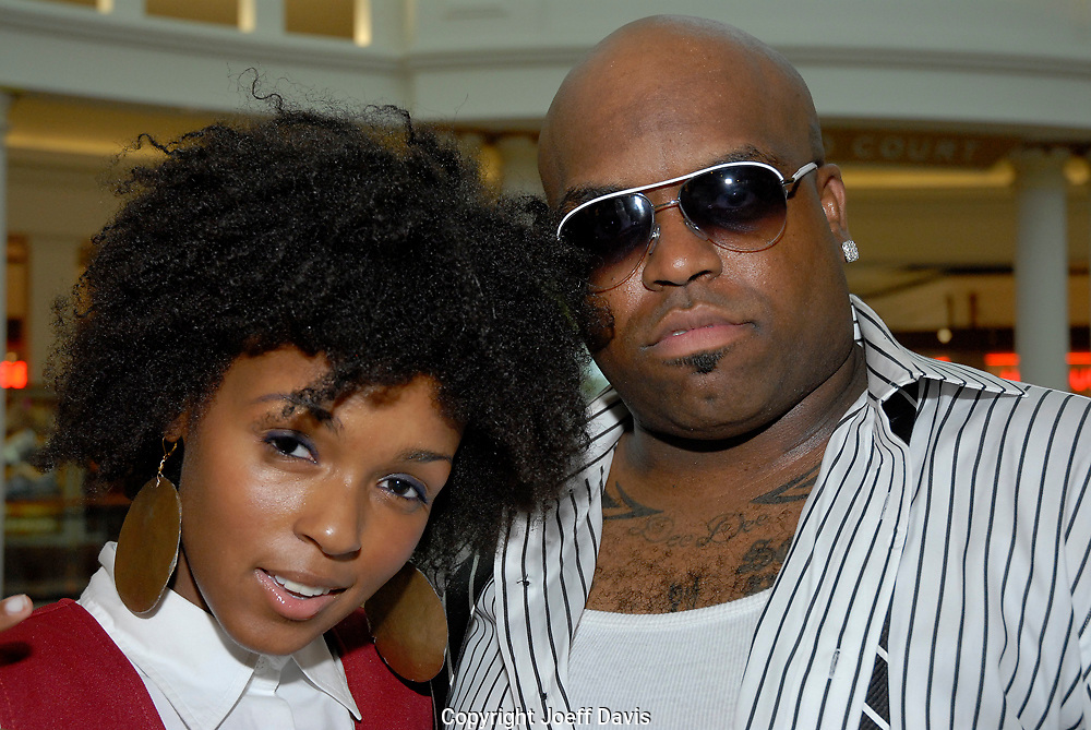 ATLANTA, GA - 2006:  Cee Lo Green and Janelle Monae..