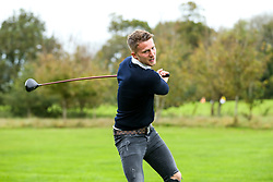 Thom Jonkerman in action during the Annual Bristol Rovers Golf Day - Rogan/JMP - 09/10/2017 - GOLF - Farrington Park - Bristol, England - Bristol Rovers Golf Day.