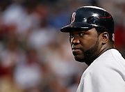 Boston first baseman David Ortiz during the game between the Atlanta Braves and the Boston Red Sox at Turner Field in Atlanta, GA on June 19, 2007..