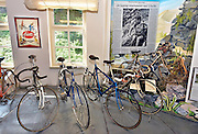 Nederland, Nijmegen, 31-7-2014Museum, fietsmuseum Velorama aan de Waalkade. Het herbergt de complete geschiedenis van de fiets, van velocipede en bi tot moderne racefiets. de fietsen van koningin Wilhelmina en juliana staan hier, evenals de verwrongen racefiets van wielrenner Wim van Est nadat hij van de Aubisque viel tijdens de Tour de France.FOTO: FLIP FRANSSEN/ HOLLANDSE HOOGTE