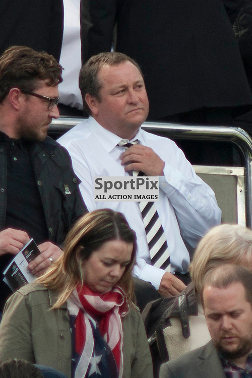 Mike Ashley prior to the Newcastle v West Ham, Barclays Premiership match at St James&rsquo; Park, Newcastle 24 May 2014<br /><br />(c) Russell G Sneddon / SportPix.org.uk