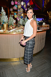 LUCY MECKLENBURGH at the fourth annual Fayre of St James's charity Christmas concert hosted by the Quintessentially Foundation and The Crown Estate in partnership with Deutsche Asset & Wealth Management held at  St James's Church, 197 Piccadilly, London followed by a party at Quaglino's 16 Bury Street, London on 24th November 2015.