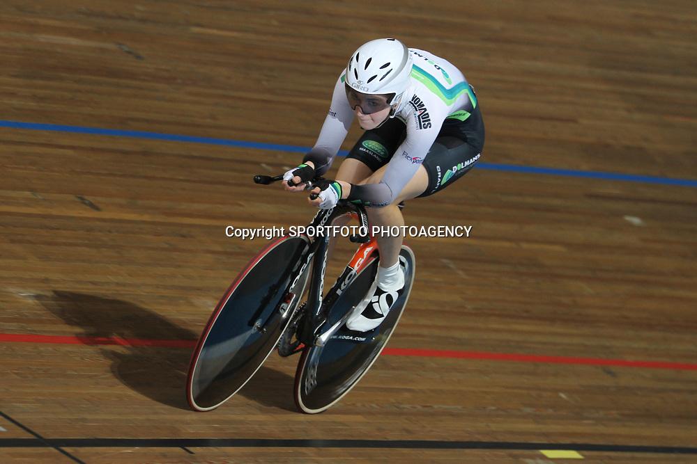 Laura van der Kamp NK baanwielrennen 2011 Apeldoorn Achtervolging