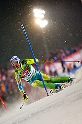 26.01.2010, Planai, Schladming, AUT, FIS Worldcup Alpin Ski, The Nightrace, im Bild VAJDIC Bernard, SLO, Elan, EXPA Pictures © 2010, Photographer EXPA/ S. Zangrando/ SPORTIDA PHOTO AGENCY