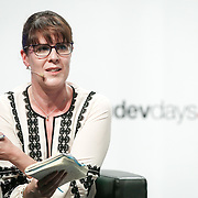 20160615 - Brussels , Belgium - 2016 June 15th - European Development Days - Harnessing the potential of migration and forced displacement for development - Elizabeth Collett , Director , MPI Europe - Moderator © European Union