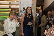 RACHEL KELLY; ALICE MACKINTOSH; Launch of The Happy Kitchen: Good Mood Food, by Rachel Kelly and Alice Mackintosh. Squirrel, South Kensington. London. 31 January 2017