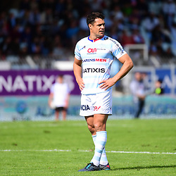 Dan Carter of Racing 92 during the Top 14 match between Racing 92 and Oyonnax  at  on September 17, 2017 in Colombes, France. (Photo by Dave Winter/Icon Sport)