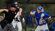 02 May 2014:  Game #1 NAIA Regional Baseball Finals -University of British Columbia Thunderbirds and the Menlo College at Thunderbird Park, University of British Columbia, Vancouver, BC, Canada.  ****(Photo by Bob Frid/UBC Athletics 2014 All Rights Reserved)****