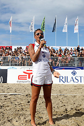 FEDERICA LISI<br /> LEGA VOLLEY SUMMER TOUR 2014<br /> ALL STAR GAME SAND VOLLEY FEMMINILE 2013-2014<br /> RICCIONE (RN) 13-07-2014<br /> FOTO FILIPPO RUBIN