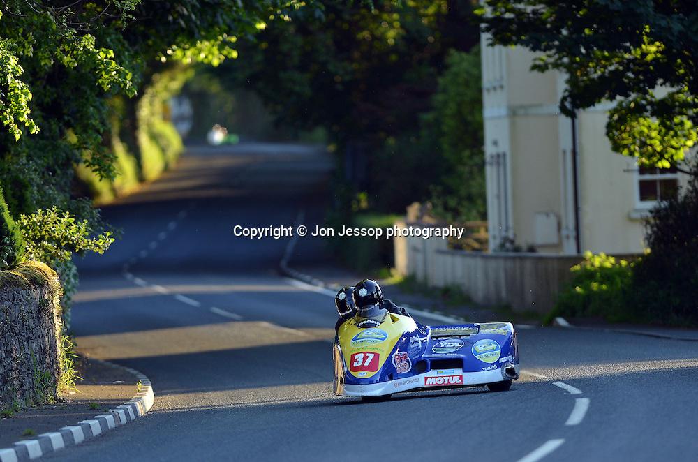 #37 Dave Hirst / Benjamin Binns  BHR Honda Leeds Parcel Company