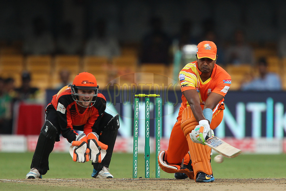 Muhammad SAEED of the Lahore Lions during match 19 of the Oppo Champions League Twenty20 between the Perth Scorchers and the Lahore Lions held at the M. Chinnaswamy Stadium, Bengaluru, India on the 30th September 2014<br /> <br /> Photo by:  Ron Gaunt / Sportzpics/ CLT20<br /> <br /> <br /> Image use is subject to the terms and conditions as laid out by the BCCI/ CLT20.  The terms and conditions can be downloaded here:<br /> <br /> http://sportzpics.photoshelter.com/gallery/CLT20-Image-Terms-and-Conditions-2014/G0000IfNJn535VPU/C0000QhhKadWcjYs