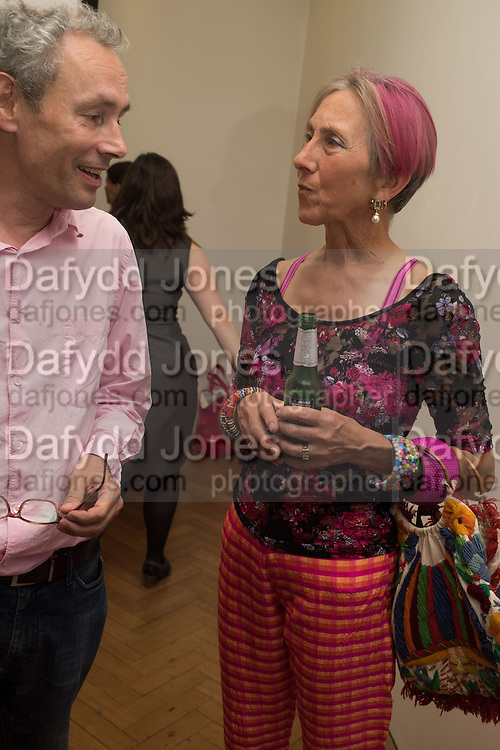 MARK HUDSON; SILVIA ZIRANEK, Albert Irvin: Painting the Human Spirit - private view<br /> Exhibition dedicated to the memory of Albert Irvin who passed away in March 2015. Private view held on anniversary of Irvin's birthday .Gimpel Fils Gallery, 30 Davies Street, London, 21 August 2015.