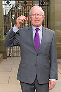 The Balvenie&rsquo;s Malt Master David Stewart was today presented with an MBE medal Her Majesty HRH The Queen for services to the Scotch whisky industry at a ceremony in The Palace of Holyroodhouse, Edinburgh, Scotland.<br />