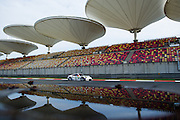 29th October - 1st November 2015. World Endurance Championship. 6 Hours of Shanghai.  Shanghai International Circuit, China. #91 PORSCHE TEAM MANTHEY, PORSCHE 911 RSR, Richard LIETZ, Michael CHRISTENSEN, Jorg BERGMEISTER