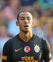 Friendly match between Galatasaray and Notts County at Meadow Lane Stadium in Notthingham, England 16.07.2013<br /> Match Scored: Galatasaray 2 -  Notts County 1<br /> Pictured: Umut Bulut of Galatasaray.