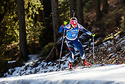 Anna Frolina (KOR) during the Women 15 km Individual Competition at day 2 of IBU Biathlon World Cup 2019/20 Pokljuka, on January 23, 2020 in Rudno polje, Pokljuka, Pokljuka, Slovenia. Photo by Peter Podobnik / Sportida