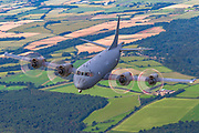 The Lockheed CP-140 Aurora is a maritime patrol aircraft operated by the Royal Canadian Air Force. The aircraft is based on the Lockheed P-3 Orion airframe, but mounts the electronics suite of the Lockheed S-3 Viking.