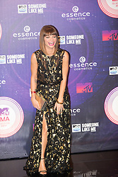 Alessandra Amoroso. Red carpets arrivals at the MTV EMA's 2014 at The Hydro on November 9, 2014 in Glasgow, Scotland.