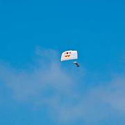 Red Bull Skydive team at Camarillo Airshow 2010. California, USA.