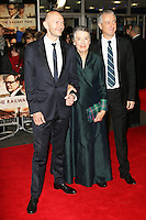 Jonathan Teplitzky; Patti Lomax; Andy Paterson, The Railway Man - UK Film Premiere, Odeon West End, Leicester Square, London UK, 04 December 2013, Photo by Richard Goldschmidt