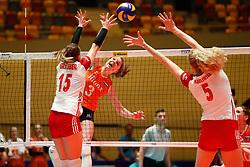 20180529 NED: Volleyball Nations League Netherlands - Poland, Apeldoorn<br />Yvon Belien (3) of The Netherlands <br />©2018-FotoHoogendoorn.nl