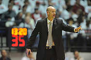 """Ole Miss head coach Andy Kennedy vs. Kentucky at the C.M. """"Tad"""" Smith Coliseum on Tuesday, January 29, 2013.  (AP Photo/Oxford Eagle, Bruce Newman).."""