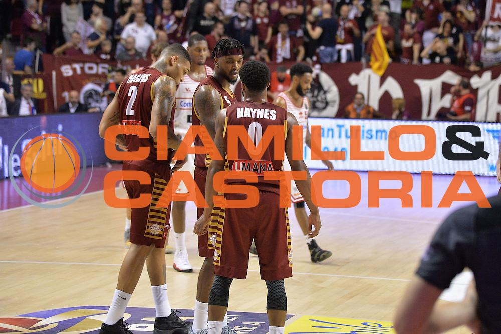 Julian Stone<br /> Venezia 05 Marzo 2017 -<br /> Campionato Basket Lega A <br /> Umana Reyer Venezia vs Consultinvest Pesaro<br /> Foto Ciamillo/Michele Gregolin