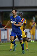 AFC Wimbledon midfielder Chris Whelpdale (11) during the Pre-Season Friendly match between AFC Wimbledon and Crystal Palace at the Cherry Red Records Stadium, Kingston, England on 27 July 2016. Photo by Stuart Butcher.