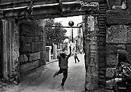Football is not only football... Samanpazari, Ankara, Turkey, 14 June 2006.