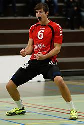 20170225 NED: Eredivisie, Valei Volleybal Prins - Coolen - Alterno: Ede<br />Peter Ogink of Valei Volleybal Prins <br />©2017-FotoHoogendoorn.nl / Pim Waslander