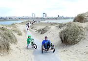 3-4-2013<br /> San, dunes, Crosby, Liverpool, Merseyside