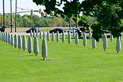 Field of Corn, an art installation in Dublin, Ohio.
