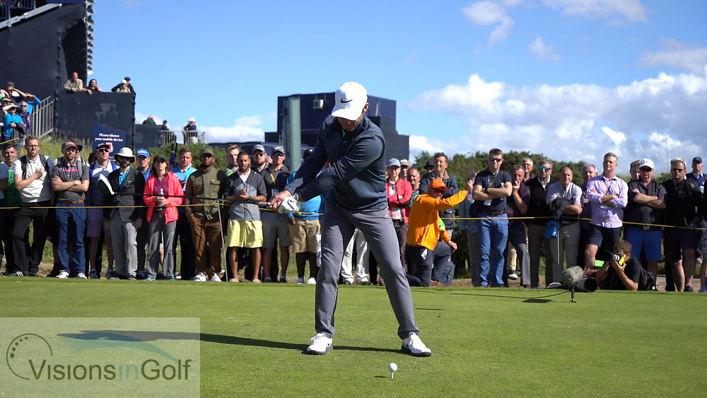 Paul Casey<br /> Swing sequence<br /> Face on July 2017<br /> <br /> Golf Pictures Credit by: Mark Newcombe / visionsingolf.com