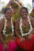 Polynesian dancers, Fakarava, Tuamotu Islands, French Polynesia, (Editorial use only)<br />