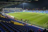 PODGORICA, MONTENEGRO - MARCH 25: General view of the City stadium before the 2020 UEFA European Championships group A qualifying match between Montenegro and England at Podgorica City Stadium on March 25, 2019 in Podgorica, Montenegro. (MB Media)