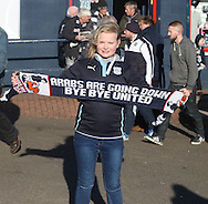 Dundee fans revel in their rivals' misfortune - Dundee v Dundee United, Ladbrokes Scottish Premiership at Dens Park<br /> <br /> <br />  - &copy; David Young - www.davidyoungphoto.co.uk - email: davidyoungphoto@gmail.com